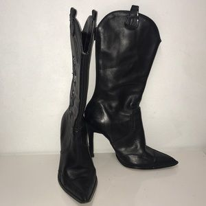 Xoxo western high heeled boots size 6